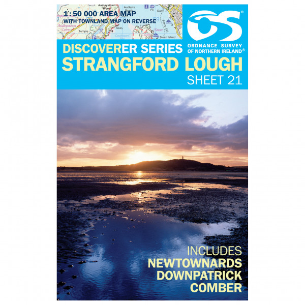 Ordnance Survey - Strangford Lough - Vandringskartor