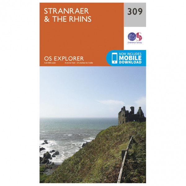 Ordnance Survey - Stranraer & The Rhins EXP309 - Wanderkarte
