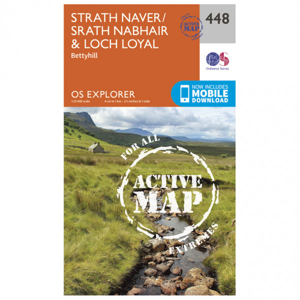 Ordnance Survey - Strath Naver / Strath Nabhair / Loch Loyal Waterproof - Vaelluskartat