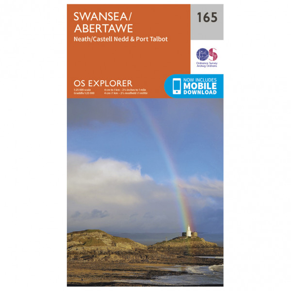 Ordnance Survey - Swansea / Abertawe - Hiking map