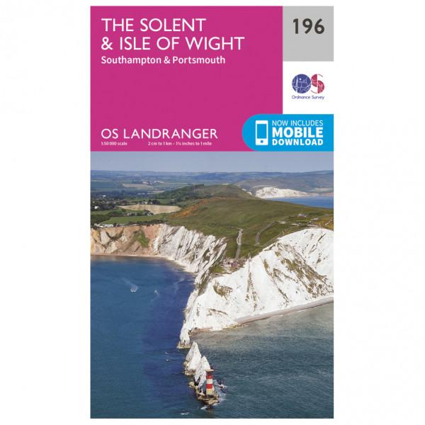 Ordnance Survey - The Solent / Isle Of Wight - Vaelluskartat