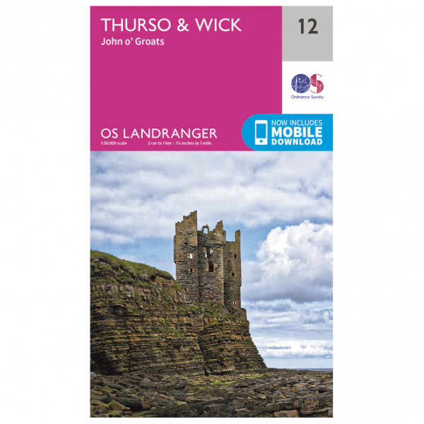 Ordnance Survey - Thurso / Wick - Wandelkaarten