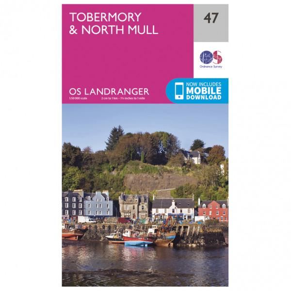 Ordnance Survey - Tobermory / North Mull - Vandrekort