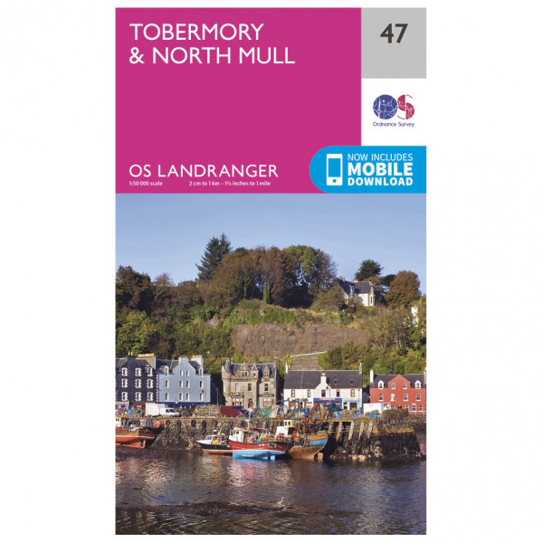Ordnance Survey - Tobermory / North Mull - Wandelkaart