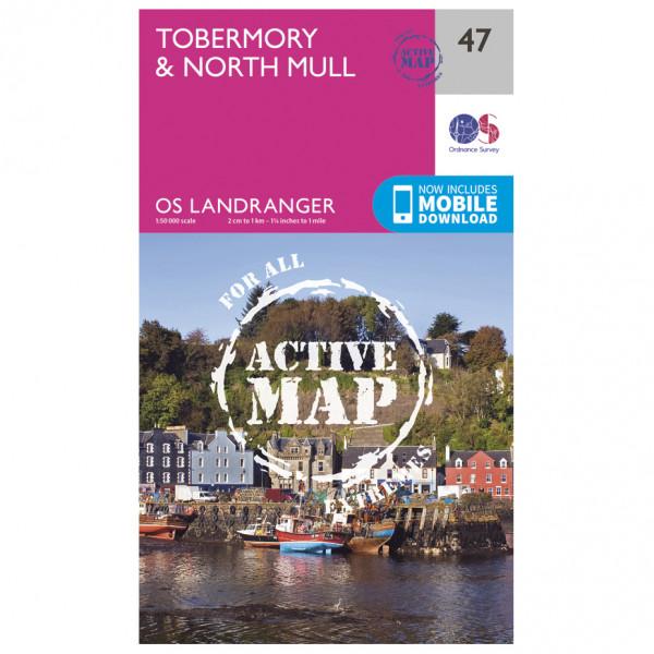 Ordnance Survey - Tobermory / North Mull Waterproof - Vandrekort