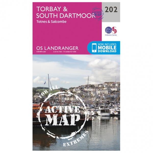 Ordnance Survey - Torbay / South Dartmoor Waterproof - Wandelkaarten