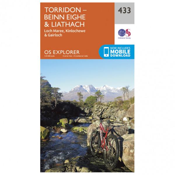 Ordnance Survey - Torridon Beinn Eighe / Liathach - Turkart