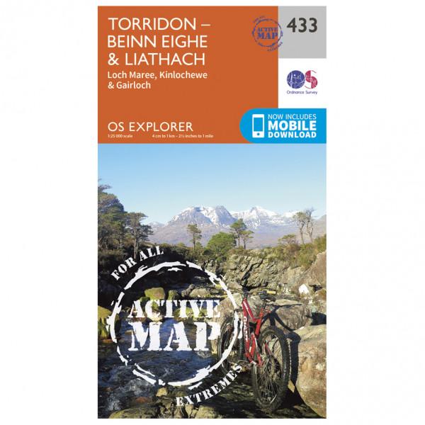 Ordnance Survey - Torridon Waterproof - Wandelkaart