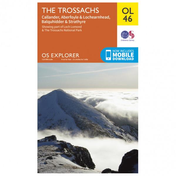 Ordnance Survey - Trossachs / Callander / Aberfoyle Outdoor - Hiking map