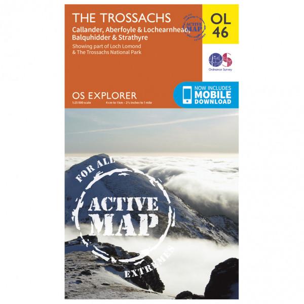 Ordnance Survey - Trossachs / Callander / Aberfoyle Waterproof - Wandelkaarten
