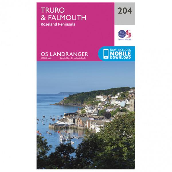 Ordnance Survey - Truro / Falmouth - Turkart
