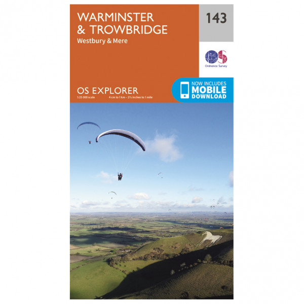 Ordnance Survey - Warminster / Trowbridge - Vandringskartor