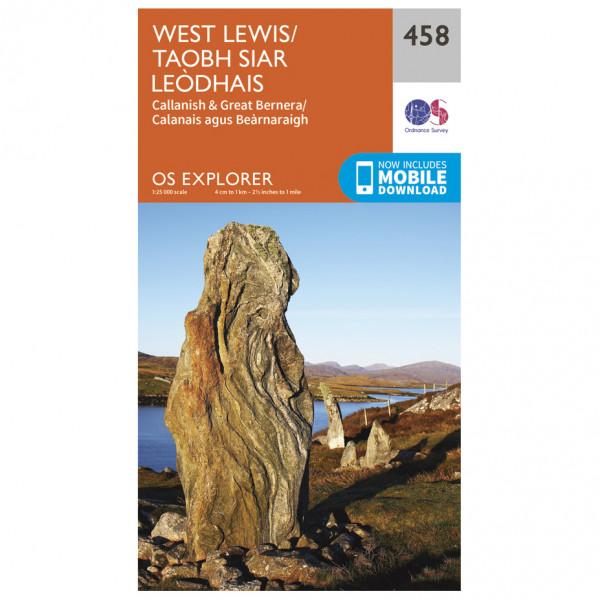 Ordnance Survey - West Lewis - Vandringskartor