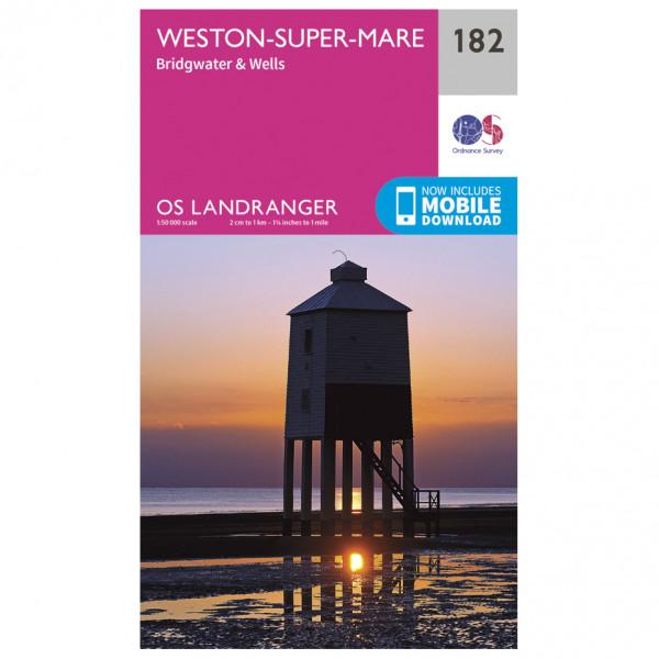 Weston-Super-Mare - Hiking map