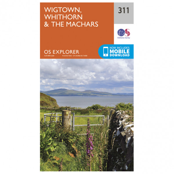 Ordnance Survey - Wigtown / Whithorn / The Machars - Vandrekort