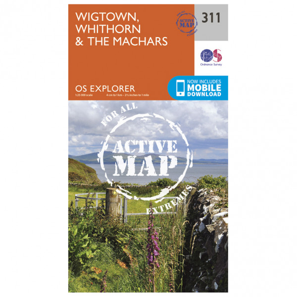 Ordnance Survey - Wigtown / Whithorn / The Machars Waterproof - Hiking map