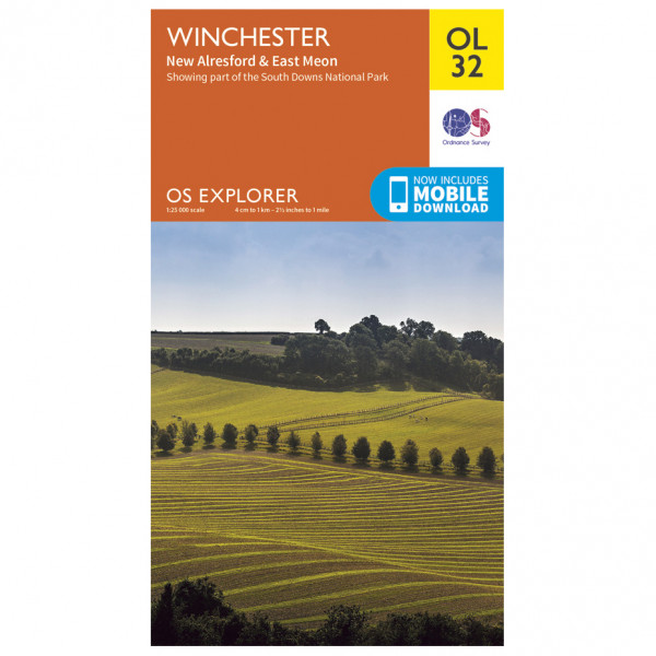 Ordnance Survey - Winchester / New Alresford / East Meon Outdoor - Wandelkaarten