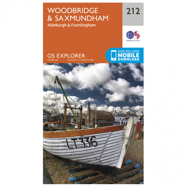 Ordnance Survey - Woodbridge / Saxmundham - Turkart