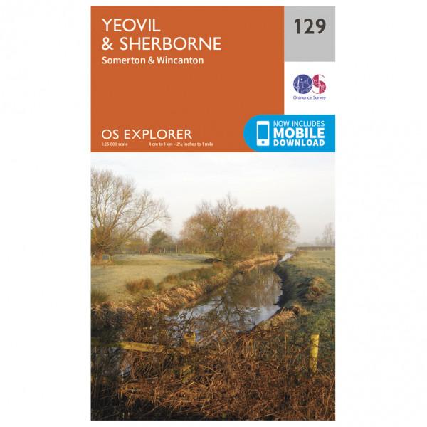 Ordnance Survey - Yeovil / Sherborne - Mapa de senderos