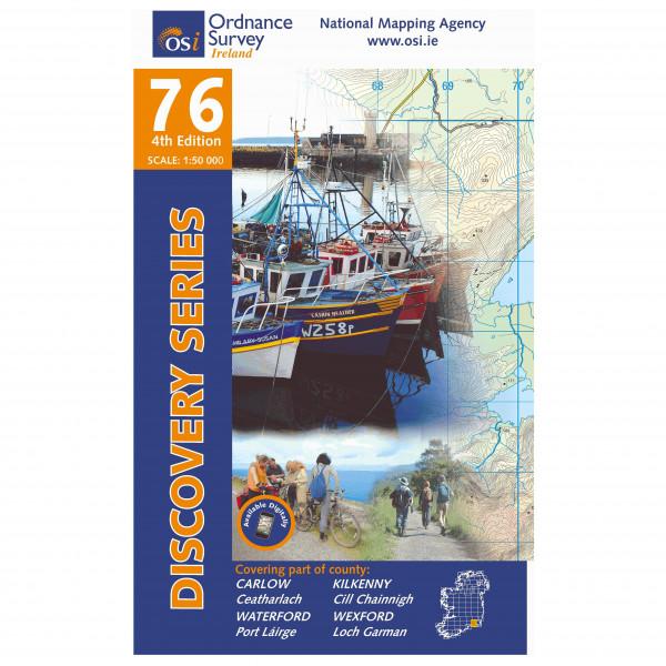Ordnance Survey Ireland - Carlow / Kilkenny / Waterford / Wexford - Turkart