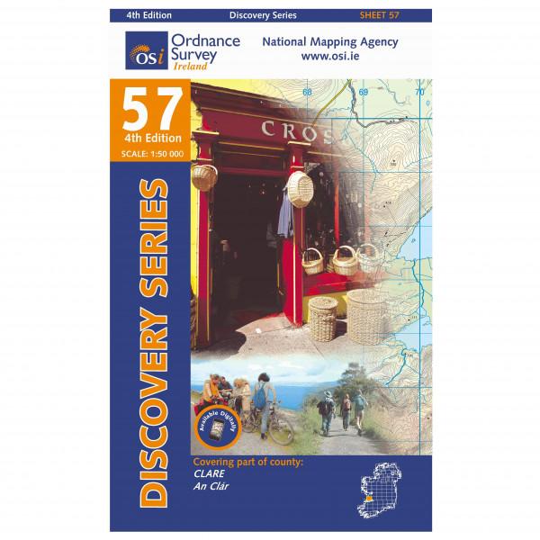Ordnance Survey Ireland - Clare - Vandringskartor