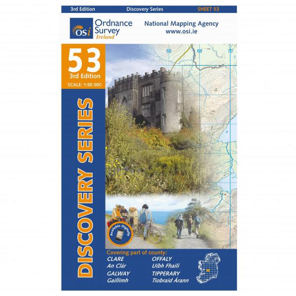 Ordnance Survey Ireland - Clare / Galway / Offaly / Tipperary - Wandelkaarten