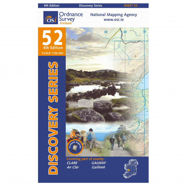 Clare / Galway I - Hiking map