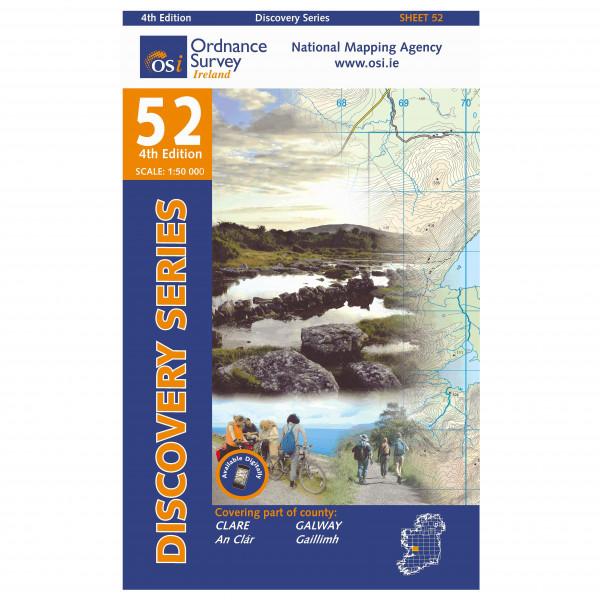 Ordnance Survey Ireland - Clare / Galway I - Wandelkaarten