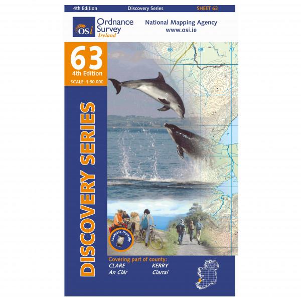 Ordnance Survey Ireland - Clare / Kerry - Hiking map