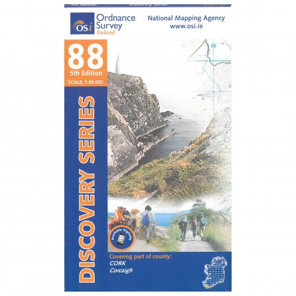 Ordnance Survey Ireland - Cork (Dunmanus Bay) - Hiking map