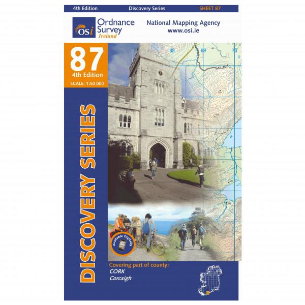 Ordnance Survey Ireland - Cork (Kinsale) - Wanderkarte