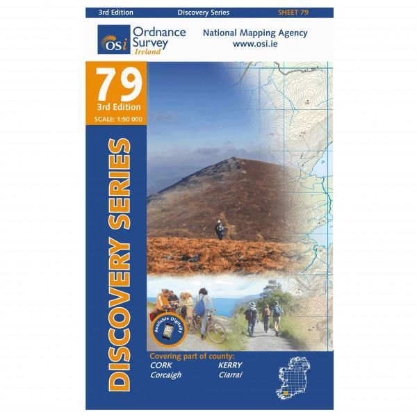 Ordnance Survey Ireland - Cork (Macroom) / Kerry - Wandelkaarten