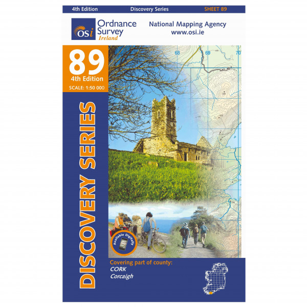 Ordnance Survey Ireland - Cork (Skibbereen) - Wandelkaart