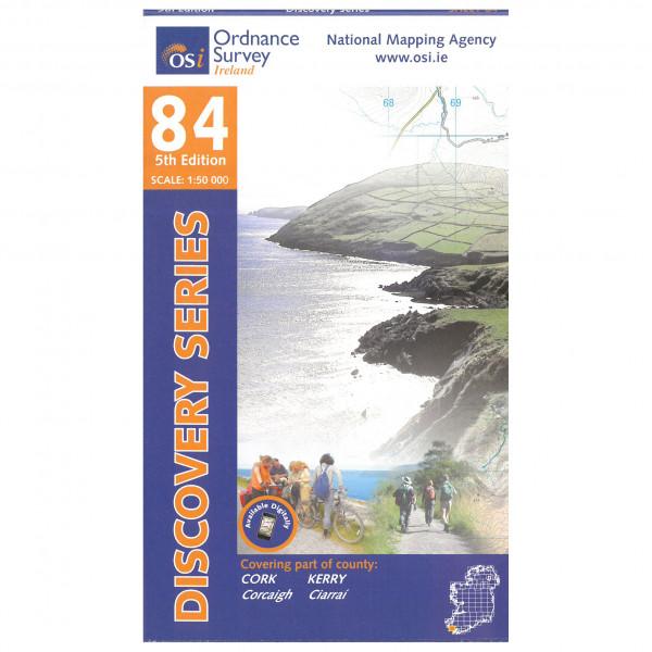 Ordnance Survey Ireland - Cork / Kerry - Wanderkarte