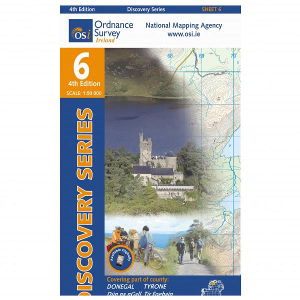 Ordnance Survey Ireland - Donegal (Cent) / Tyrone - Vaelluskartat