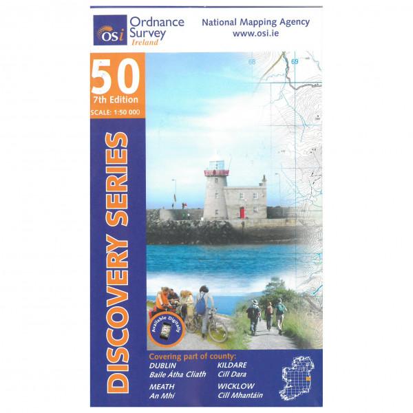 Ordnance Survey Ireland - Dublin / Kildare / Meath / Wicklow - Mapa de senderos