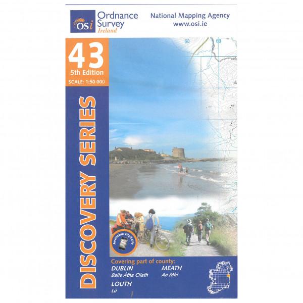 Ordnance Survey Ireland - Dublin / Louth / Meath - Hiking map