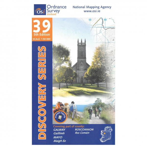 Ordnance Survey Ireland - Galway / Mayo / Roscommon - Wandelkaarten