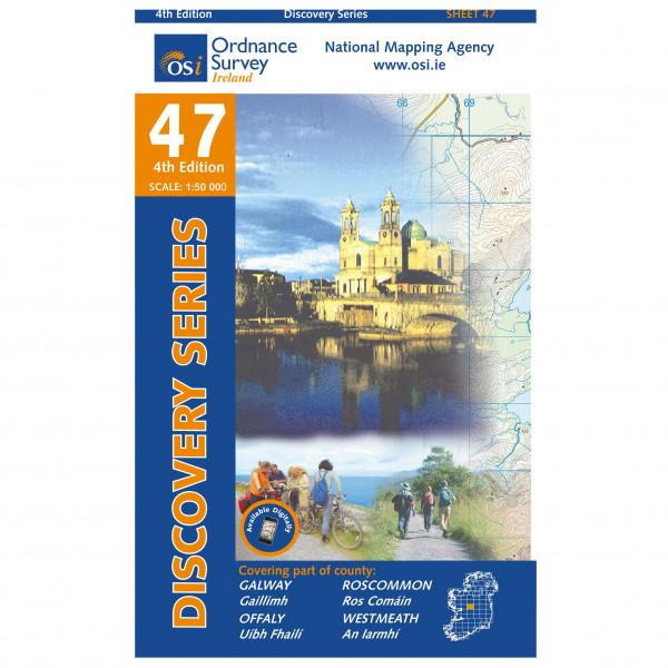 Ordnance Survey Ireland - Galway / Offaly / Roscommon / Westmeath - Wandelkaarten