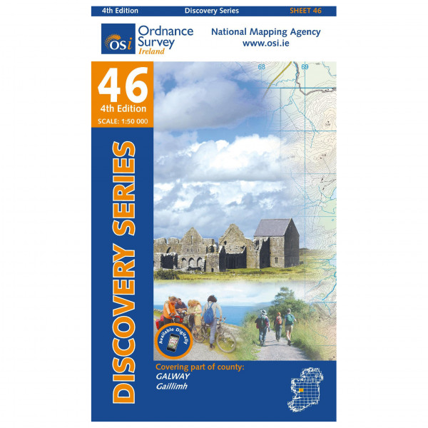 Ordnance Survey Ireland - Galway II - Wandelkaart