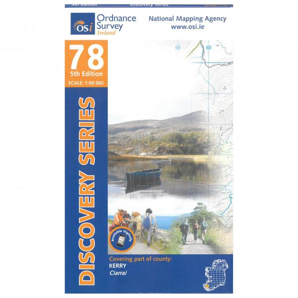 Ordnance Survey Ireland - Kerry - Wandelkaarten
