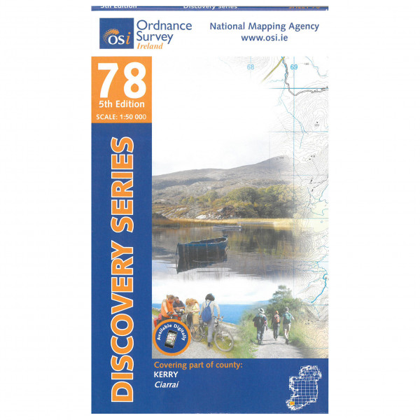Ordnance Survey Ireland - Kerry - Vandringskartor