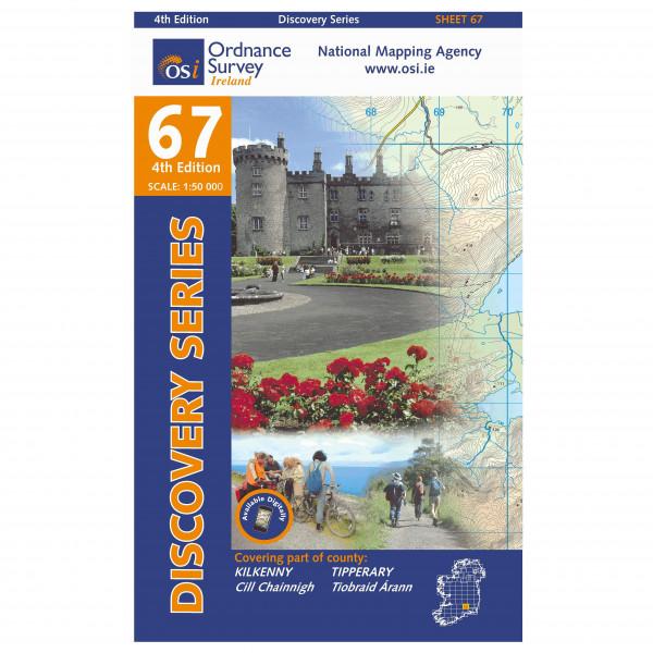 Ordnance Survey Ireland - Kilkenny / Tipperary - Wandelkaarten