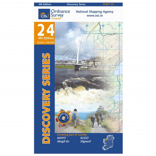 Ordnance Survey Ireland - Mayo / Sligo - Vaelluskartat