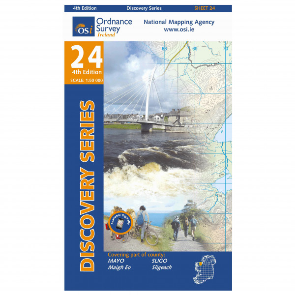 Ordnance Survey Ireland - Mayo / Sligo - Hiking map