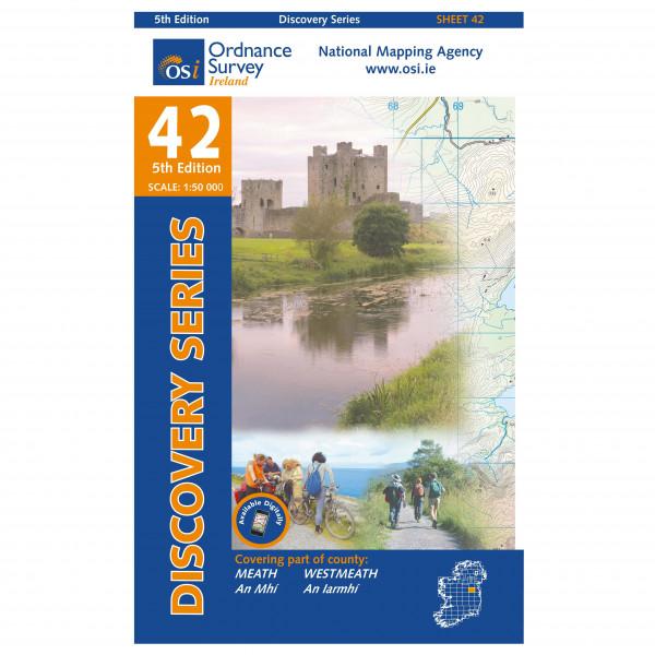 Ordnance Survey Ireland - Meath / Westmeath - Wandelkaarten