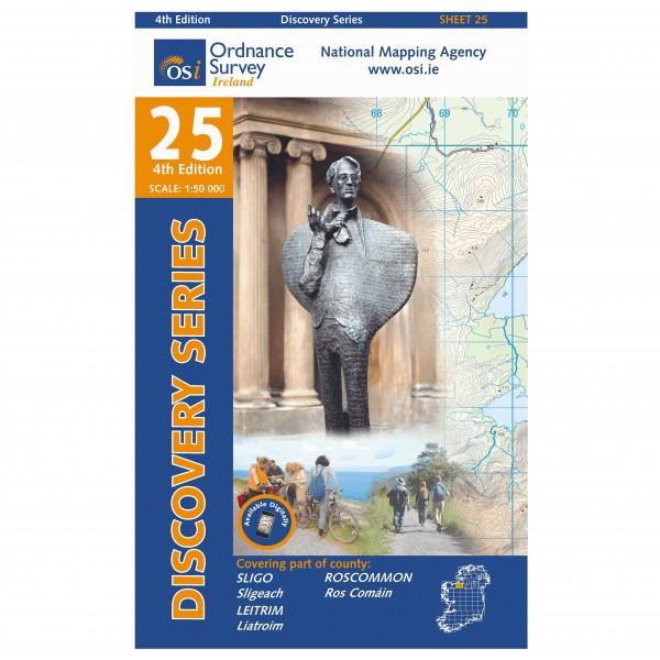 Ordnance Survey Ireland - Sligo (E) / Leitrim / Roscommon - Vaelluskartat