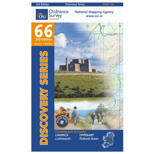 Ordnance Survey Ireland - Tipperary / Limerick - Wandelkaarten