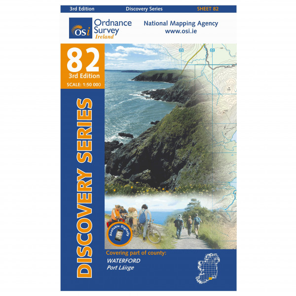 Waterford - Hiking map