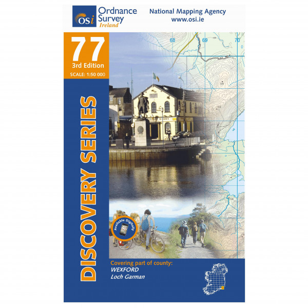 Ordnance Survey Ireland - Wexford - Mapa de senderos
